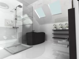 łazienka minimalisty