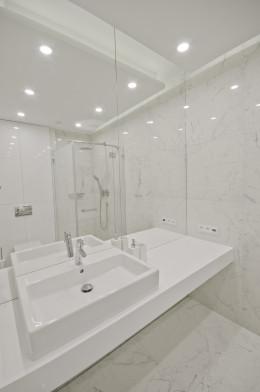 projekt łazienki / apartament Darłowo