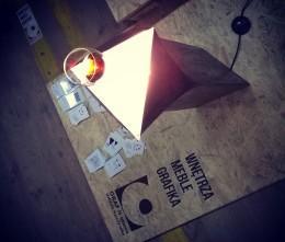 Lampa - stolik