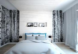 Projekt sypialni brzozowej