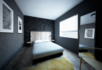 Projekt męskiej sypialni