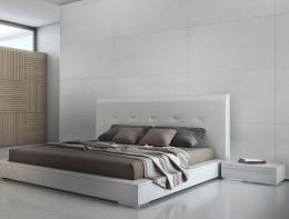 Beton architektoniczny - siwa biel