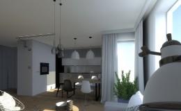 Mieszkanie w stylu skandynawskim...