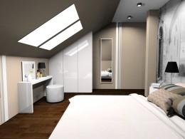 Sypialnia w kolorze cappuccino