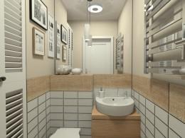 Mało jasna toaleta