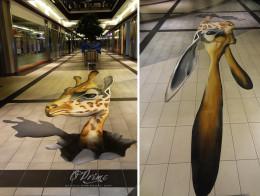 3D graffiti, 3D obraz