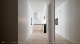 jasne minimalistyczne  mieszkanie