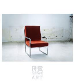 Stalowy Fotel
