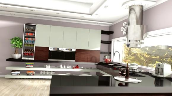 Projekt Kuchni Australia Sydney  Mariusz Samson  e   -> Kuchnia Kaflowa Samson