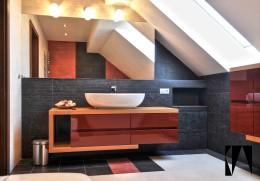 Łazienka w kolorach pustyni