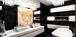 ANGEL WINGS. Projekt łazienki z onyxem