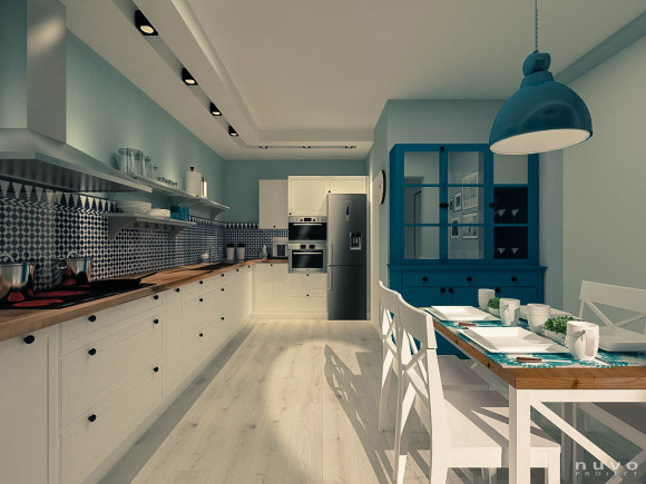 Kuchnia Stylizowana Na Wiejska Nuvo Project E Aranzacje Pl