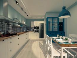 Kuchnia stylizowana na wiejską