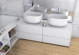 Designerska łazienka od Luxum