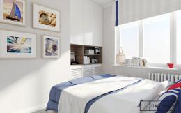 żeglarskie inspiracje - sypialnia
