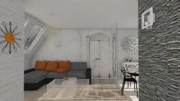 Mały Apartament i Tajemnicze Drzwi.