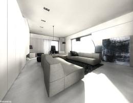 Projekt aranżacji wnętrza domu na Kaszubach