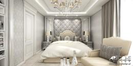 CONTEMPORARY CLASSIC - sypialnia glamour.