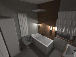 Łazienka-styl nowoczesny