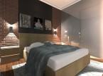 Sypialnia-styl industrialny