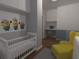 Pokój dziecięcy-styl nowoczesny