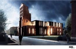 Adaptacji ruin Kościoła Św. Mikołaja w Głogowie