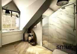 Apartament na poddaszu XIX w kamienicy