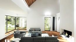 Wnętrze domu w Dobrej