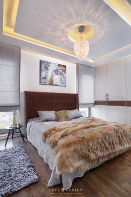 Apartament w Gdańsku - Sypialnia/Łazienka