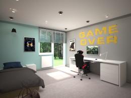 Pokój dla funa gier komputerowych
