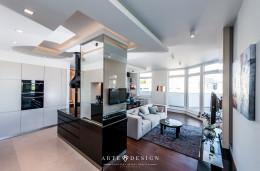 Nastrój i elegancja - Salon/Kuchnia