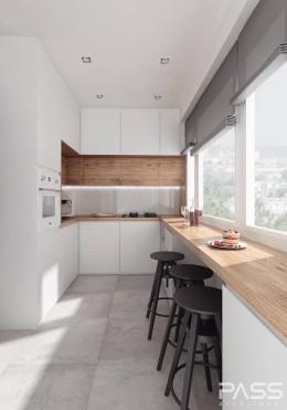 Projekt wnętrza mieszkania w Białymstoku
