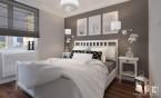 Mieszkanie w stylu amerykańskim - Sypialnia