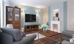 Mieszkanie w stylu amerykańskim - Salon