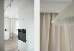 Mieszkanie białe w Krakowie