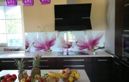 Szklany Panel Kuchenny