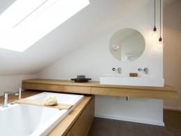 Łazienka , dom jednorodzinny