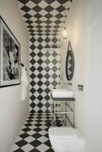 Industrialna łazienka. Projekt 2014