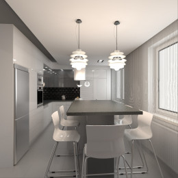 Kuchnia w domu jednorodzinnym Koszalin