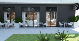 projekt bistro ogródek Menu Bistro