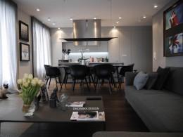 projekt mieszkania 145m2 warszawa