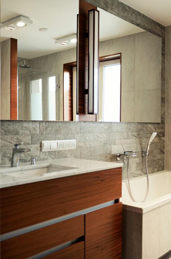 łazienka W Kamieniu Architekt Wnętrz Dominika Sowa E