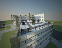 Koncepcja budynku mieszkalnego wielorodzinnego