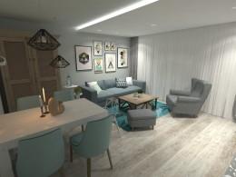 Dekory we wzory- mieszkanie