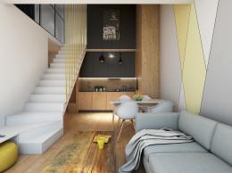 Apartament z antresolą na Wiczlinie