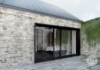 Projekt domu - rewitalizacja istniejącego budynku.