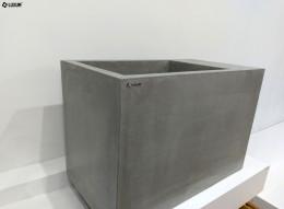 Umywalka beton kubik.