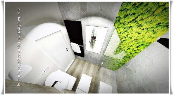 łazienka Z Mchem Emilia Rybarska E Aranżacjepl