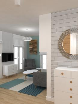 Mieszkanie w ciepłym skandynawskim stylu