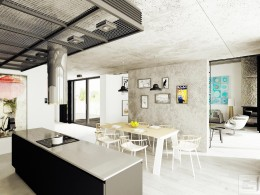 Rustykalne wnętrze domu